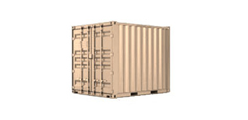 10 ft portable storage container rental in Cupertino, CA