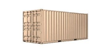 20 ft portable storage container rental in Miami Lakes, FL