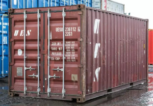 cargo worthy shipping container in Estero, FL