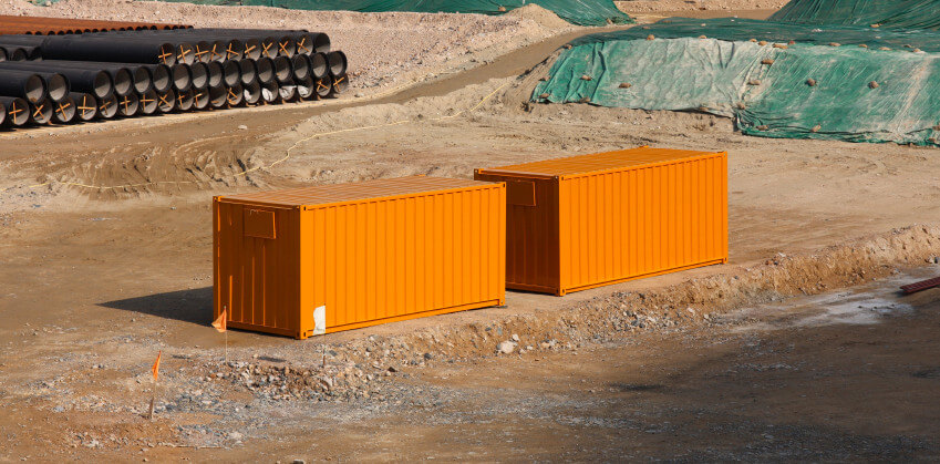 steel storage containers in Miami Lakes, FL